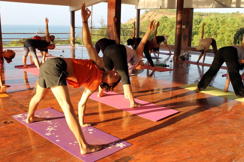 Сайт для студии кундалини-йоги white light