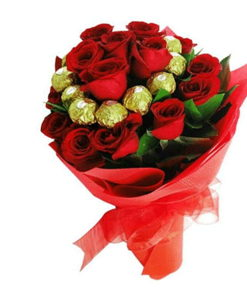 BF Chocolaty Roses Bouquet