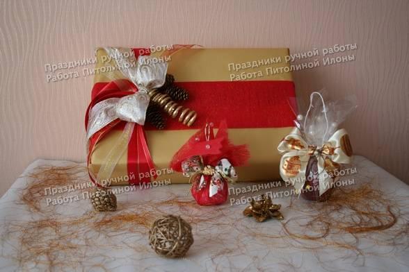 Мастер класс подарок на новый год - Cvety-iren.ru