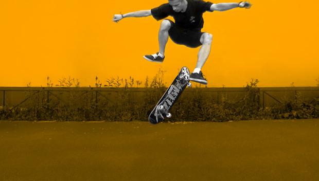 Трюки на скейте - RIDERS