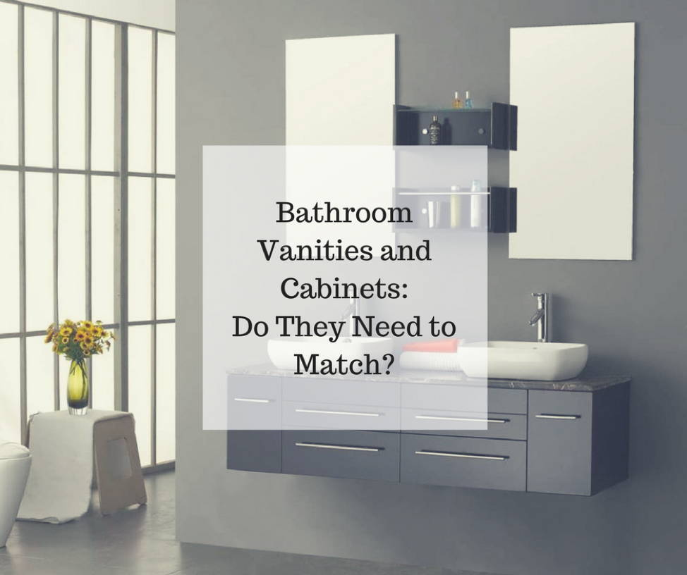 Bathroom Vanities and Cabinets - Do They Need to Match? - AGM Home ...