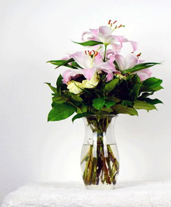 BF Pink lily Bouquet