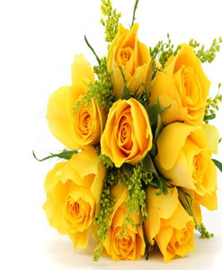 BF Yellow Roses Bouquet