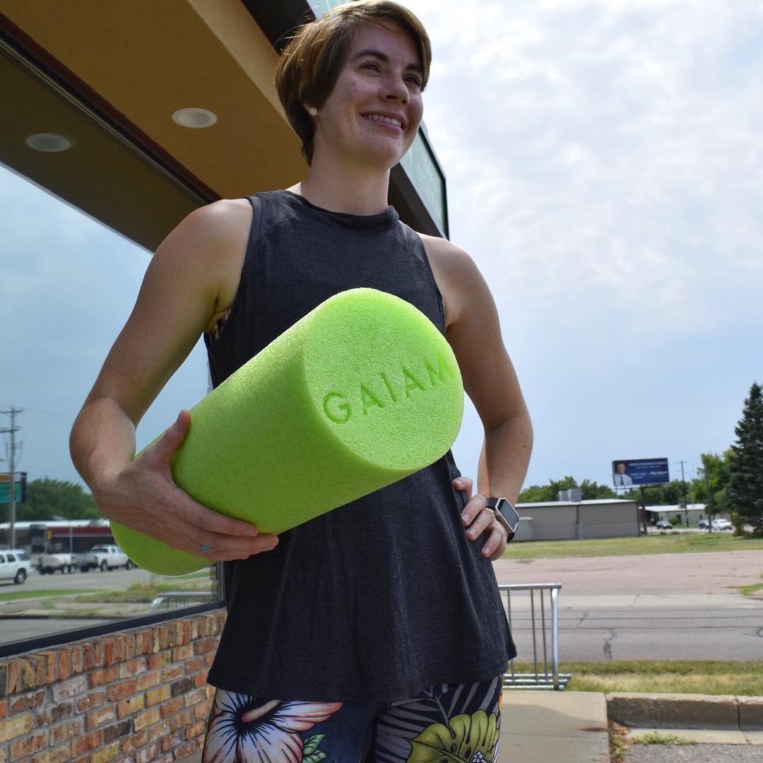 Foam Roller Class With Clarissa Thompson