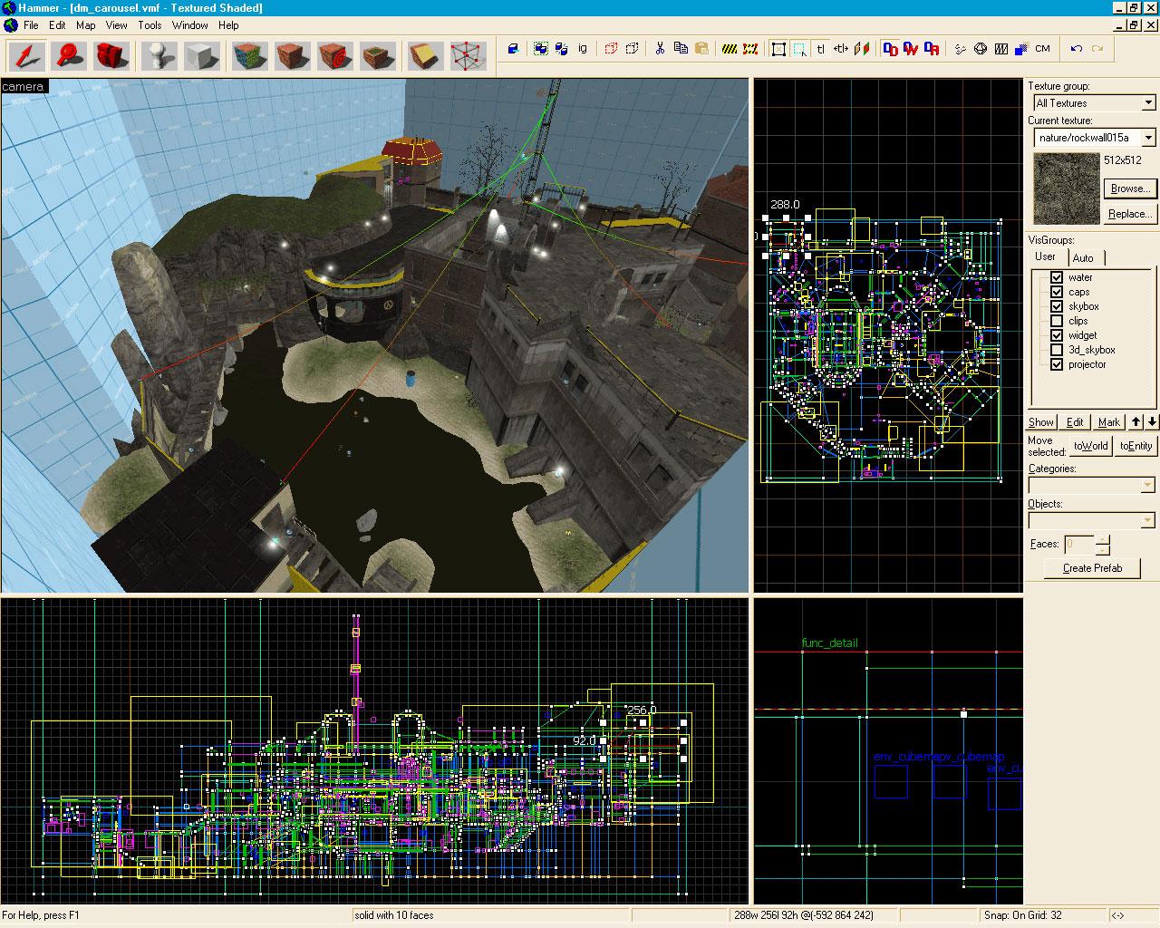 Пак текстур для знаменитого редактора карт valve hammer editor