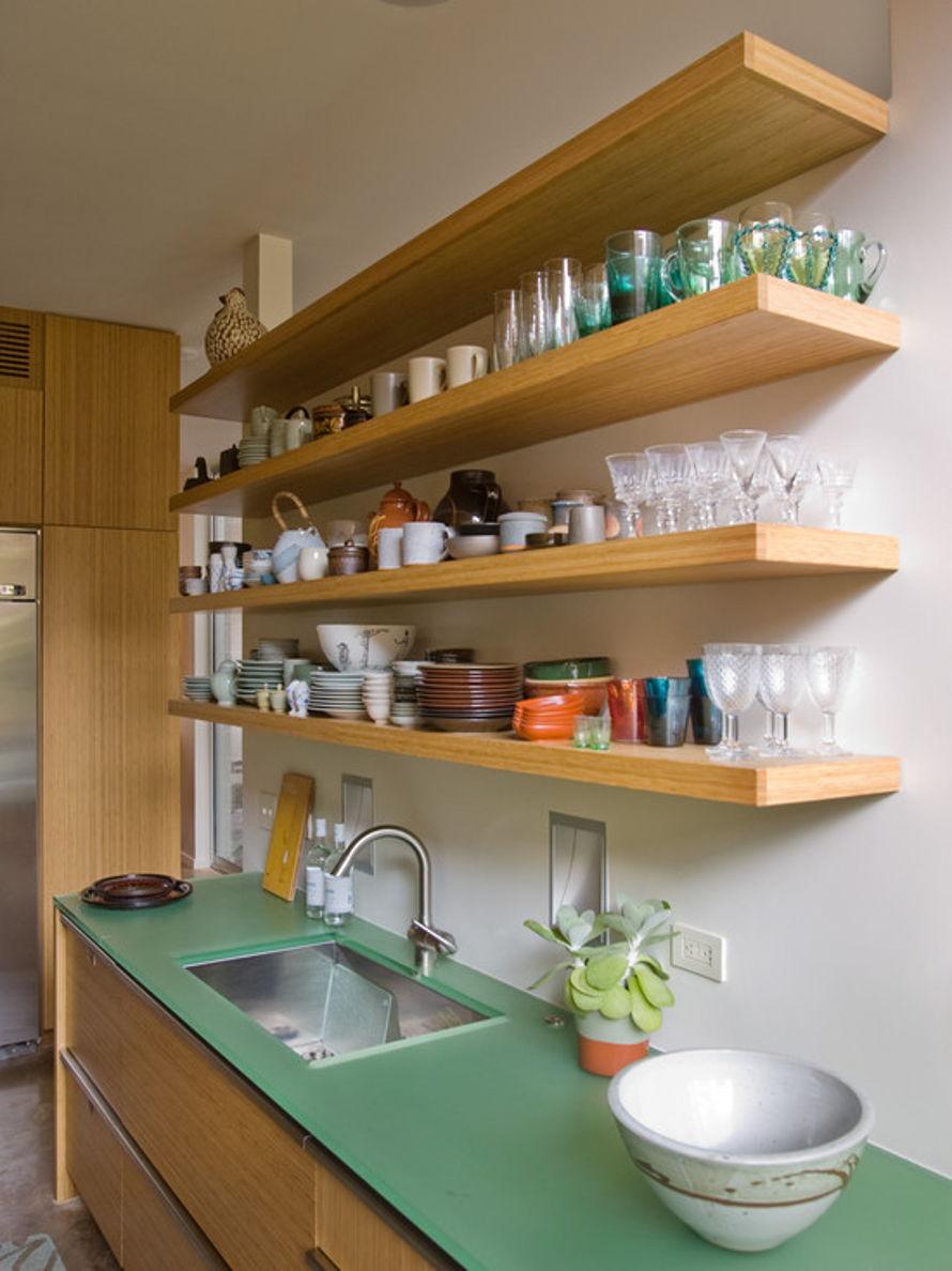 Полки на кухне своими руками варианты