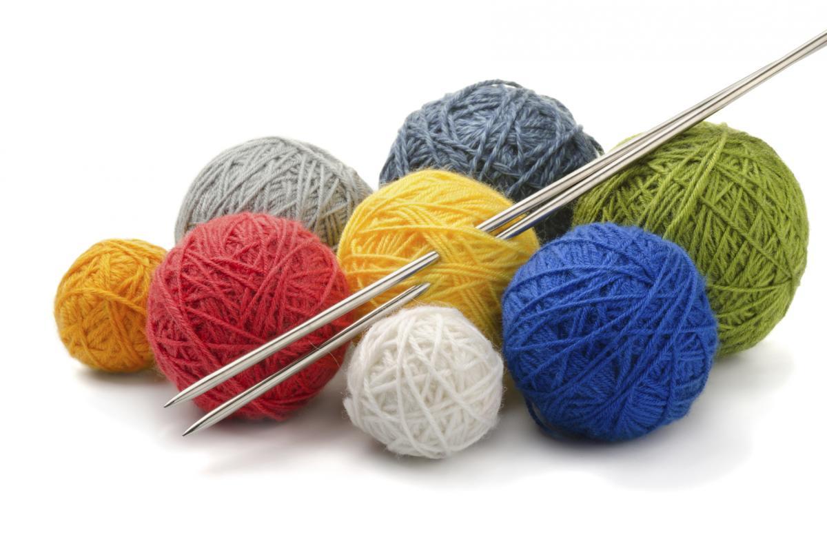 Картинки вязание спицы и пряжа