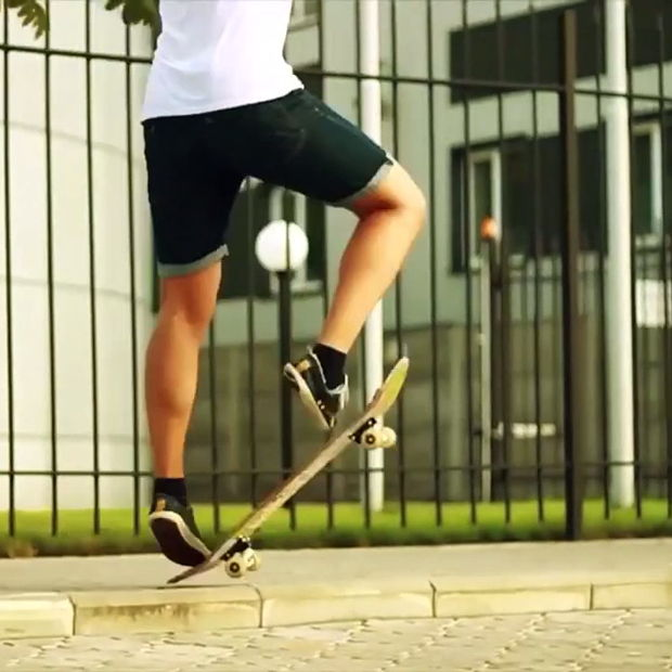How to Pop Shove-it - Best Skateboard tricks - RIDERS