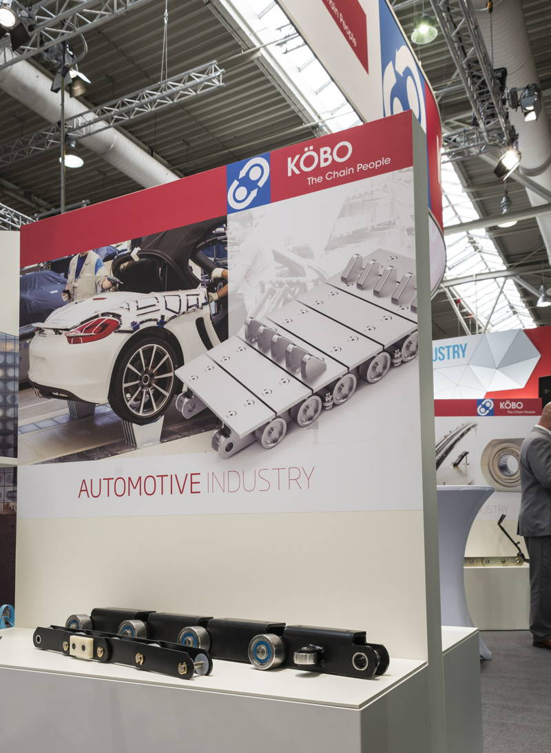 Podestgrafik Automotiv Industrie