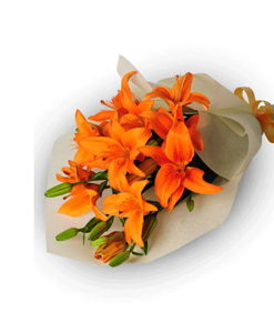 BF Orange lily Bouquet