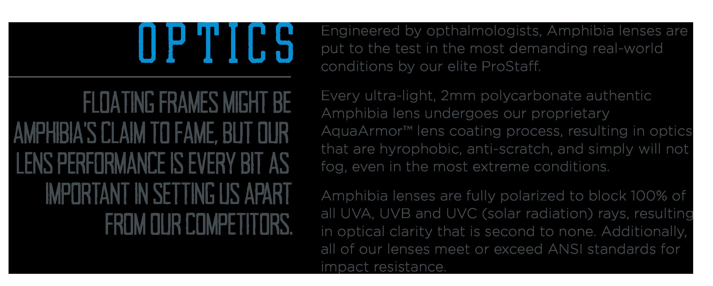 Lens Information - Amphibia