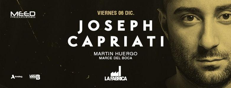 JOSEPH CAPRIATI en La Fábrica