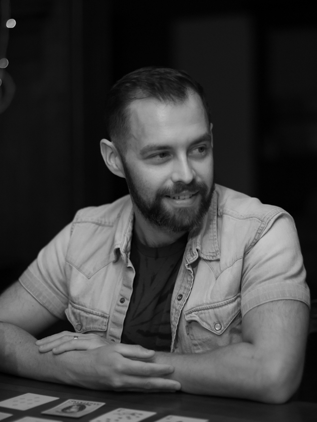 Adam Collins - Writing Lead