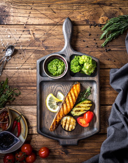Сковородка для подачи из дуба