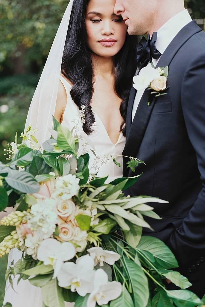 St Josephs park white and green wedding | rochester Ny wedding florist