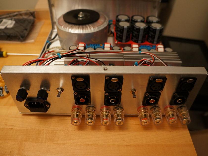 Factory Built Class D Audio 4-Channel Amp (2x SDS-254 Modules)