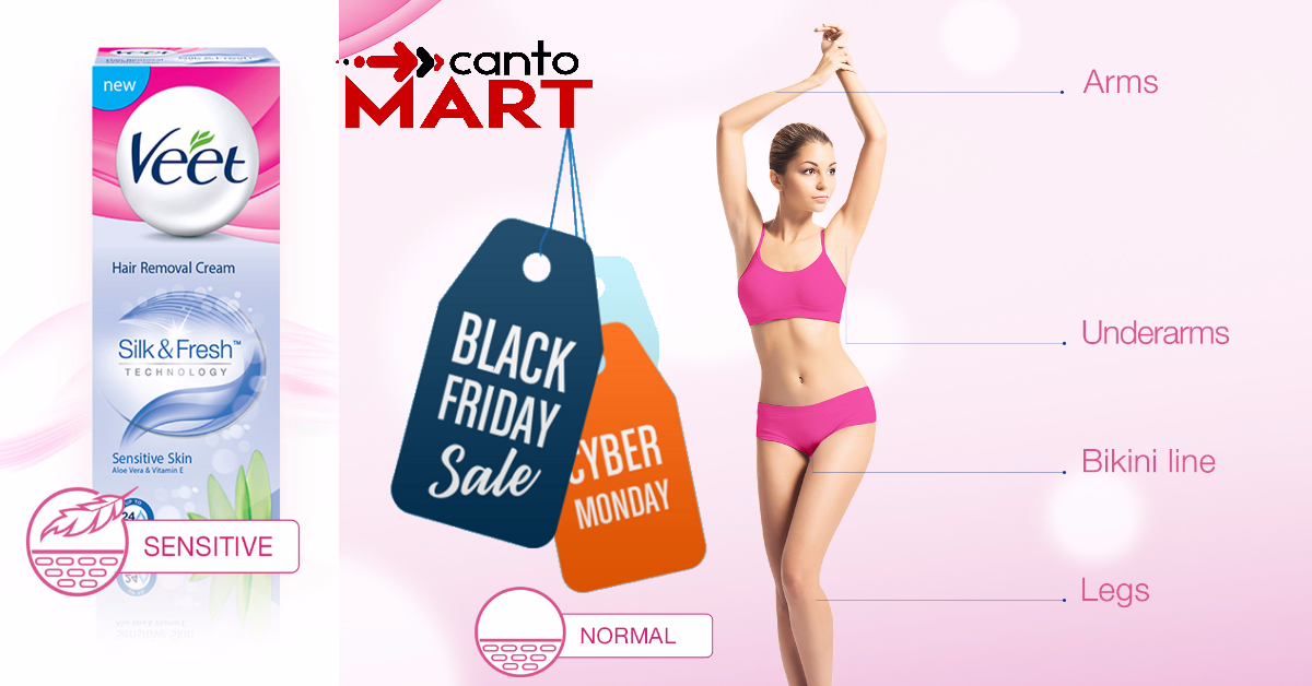Veet Black Friday Cyber Monday