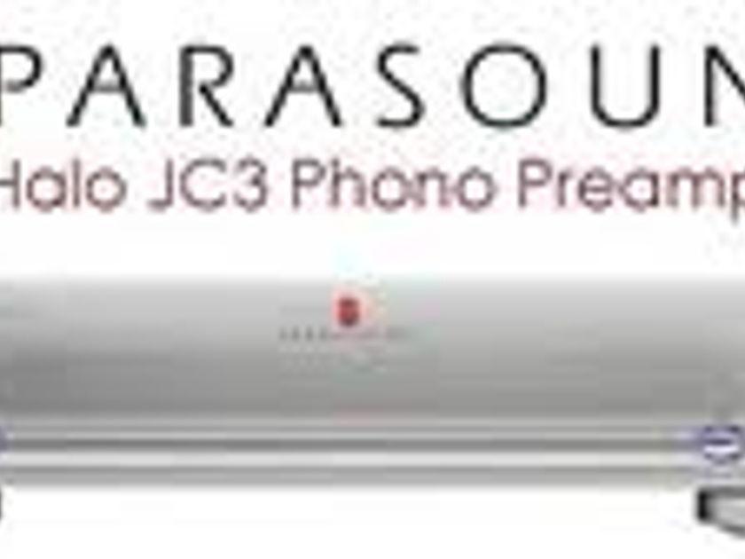 Parasound Halo JC 3 phono preamplifier