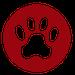 Pet Chef Dog Paw Logo