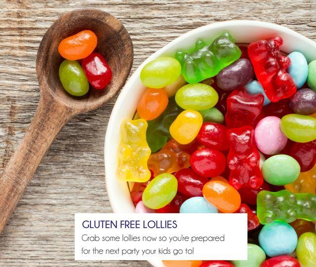 Gluten Free Lollies - Happy Tummies