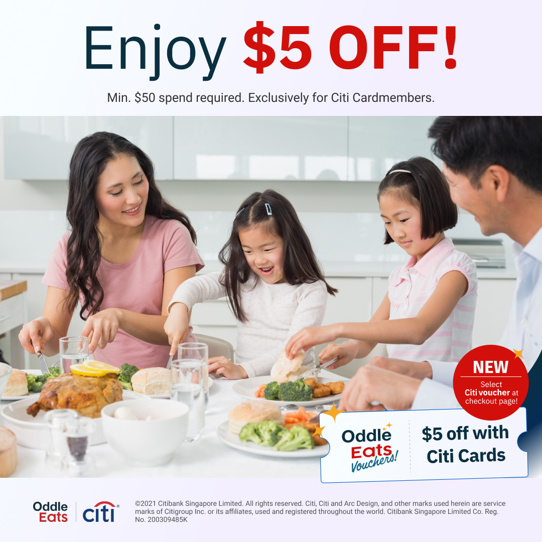 Enjoy $5 off with your Citi Cards!