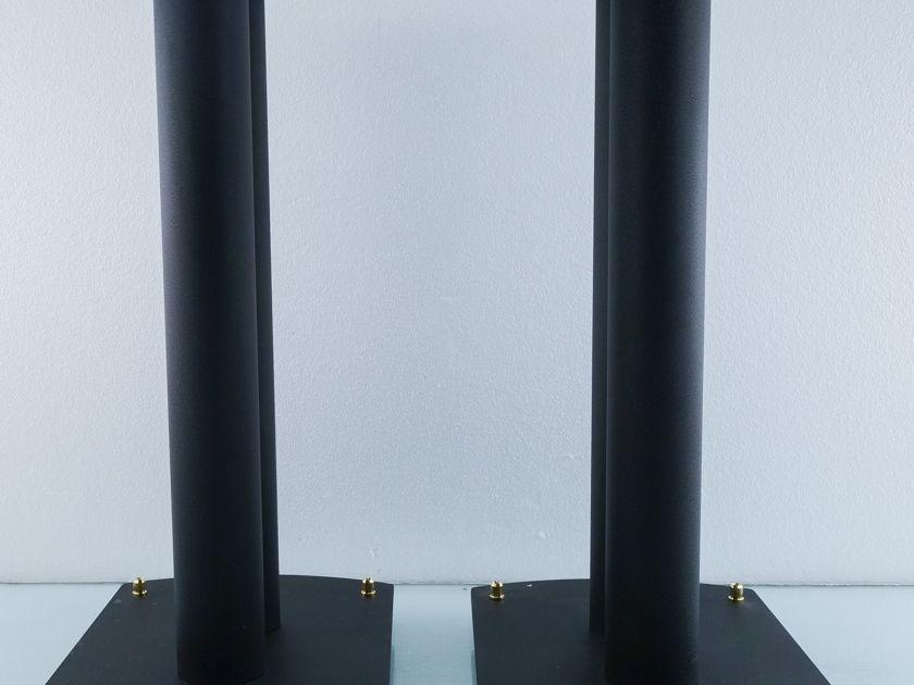 "24"" Tall Speaker Stands;   Heavy-duty Metal Audiophile Pair (9558 )"