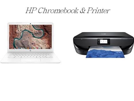 HP Chromebook & Printer