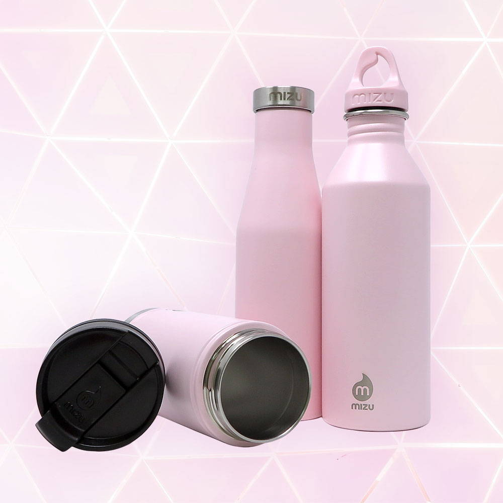 a88df20940 Mizu Stainless Steel Water Bottles Gl Mugs And Cups. Niner Mizu M8 Pdi  Stainless Bottle Soft Touch Blue