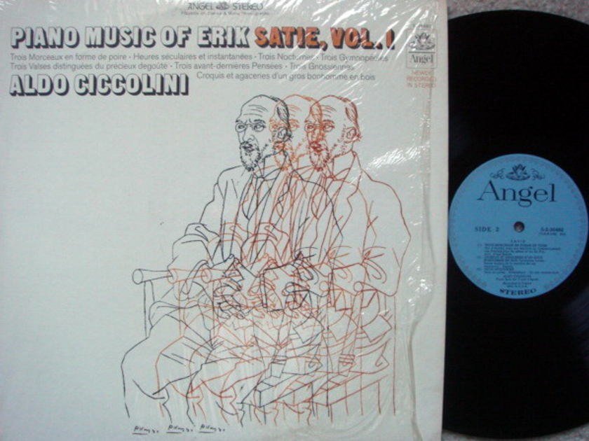 EMI Angel Blue / CICCOLINI,  - Satie Piano Music Vol.1,  MINT!