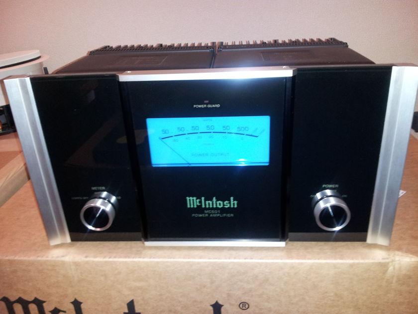 McIntosh MC501 Power Amplifiers (pair)