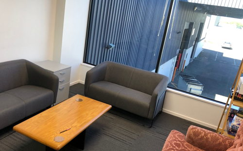 Comfy meeting room with free parking at Bullrush HQ - 0