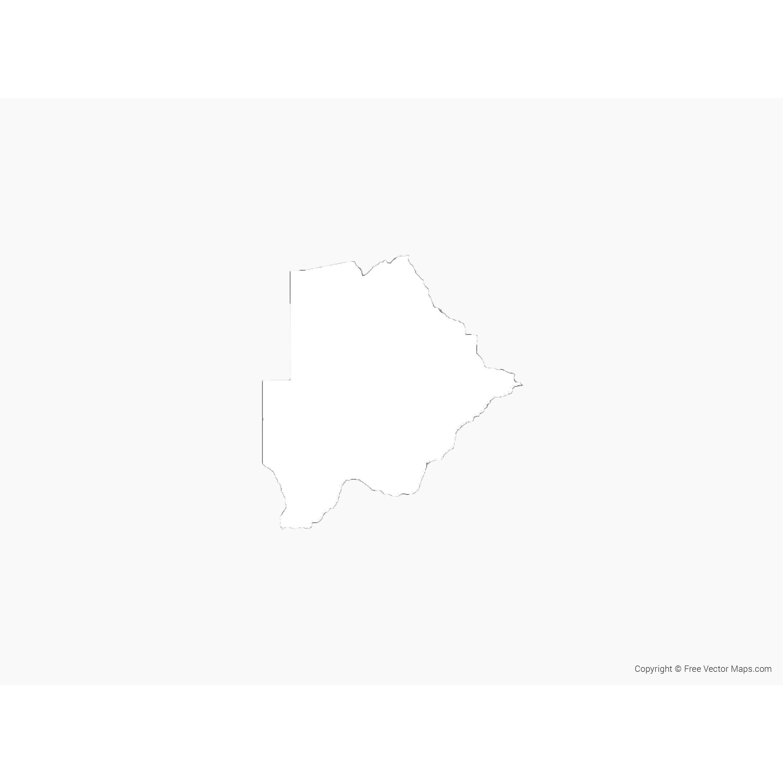Botswana map mining