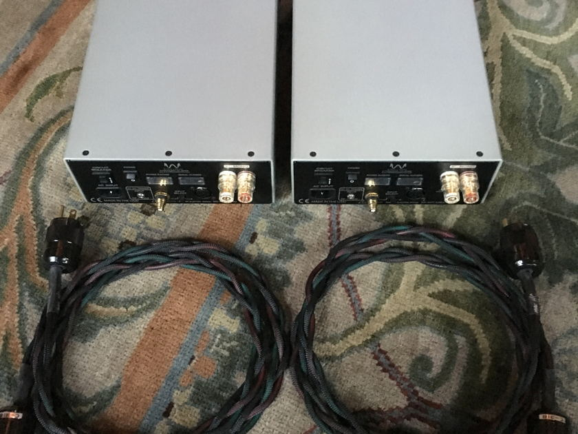 Wyred 4 Sound SX-1000 Amplifiers