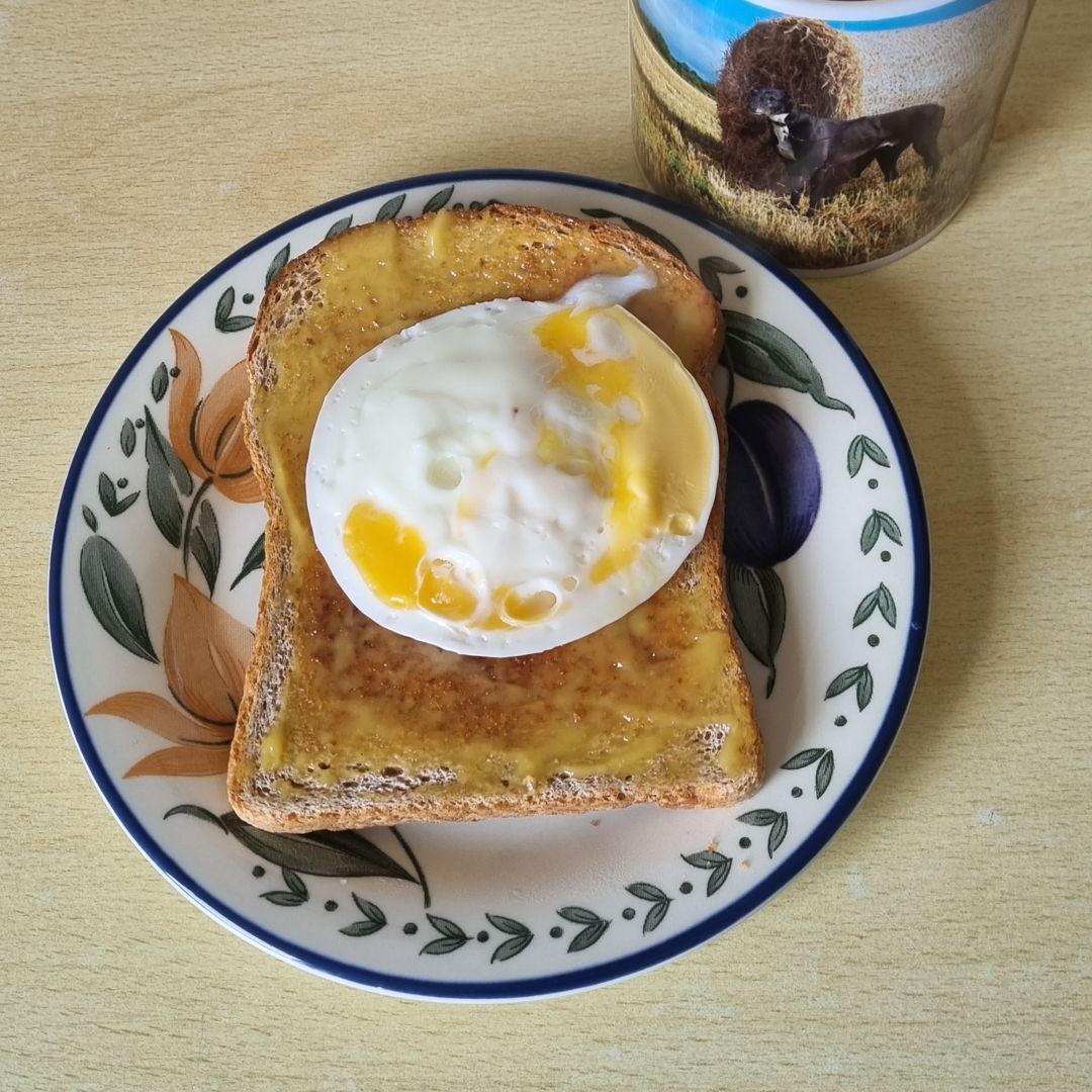 Home make kaya on toast