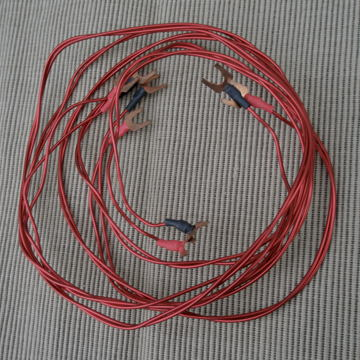red speaker cable