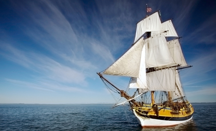 Lady Washington Tall Ship Battle Sail Tour