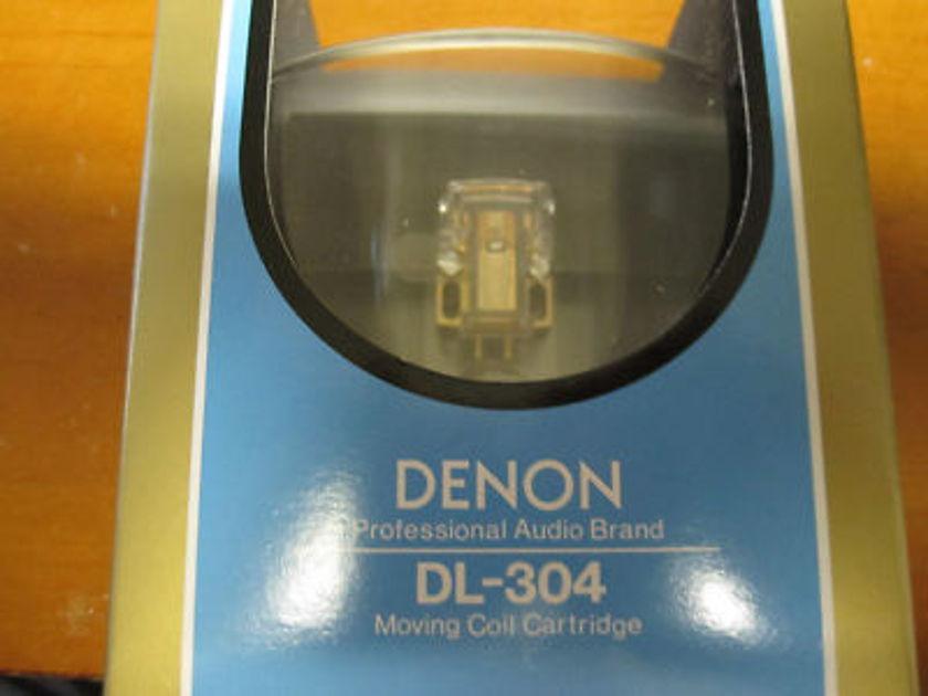 Denon DL-304 Phono Cartridge - Brand New - Plus Bonus(?)
