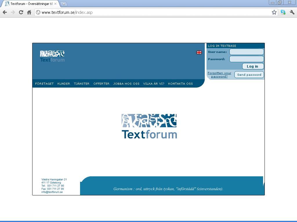 Textforum