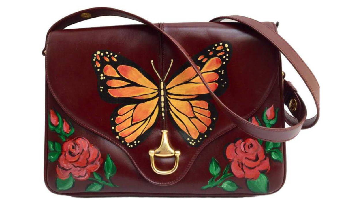 CODOGIRL Custom Painted Gucci - Butterfly