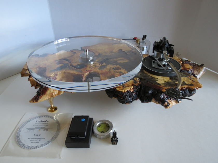 Vintage Turntable Restoration TTBD1 B