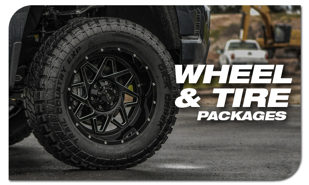 Shop HD Off-Road Wheels & Tire Packages with Dick Cepek Tires