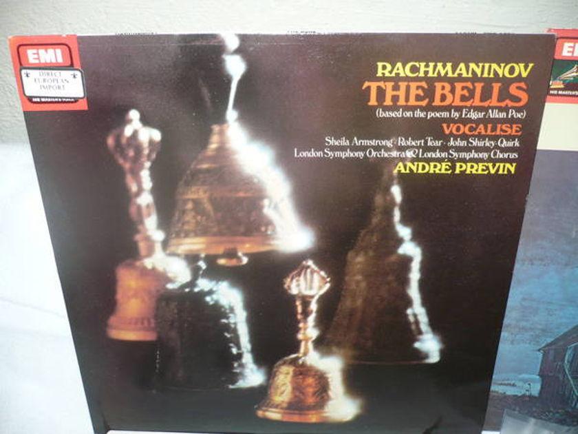 Rachmaninov The Bell - s and Britten Four S ea interlude tas list lp