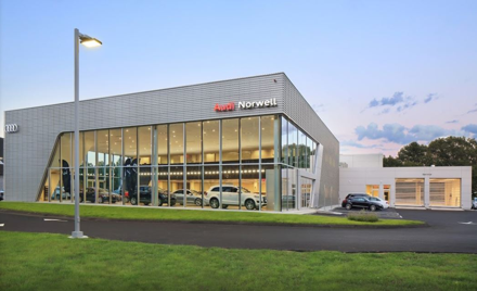 Audi Norwell Dealer Visit and Tech