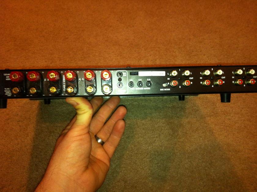 Elan D661 6 Channel Digital Amp Rack Mount/Shelf mount