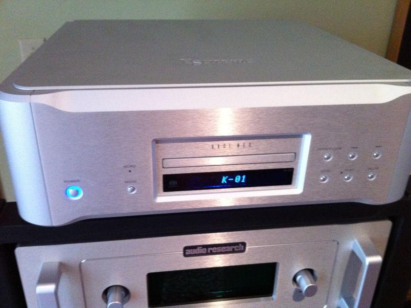 Esoteric K-01  Flagship CD Player
