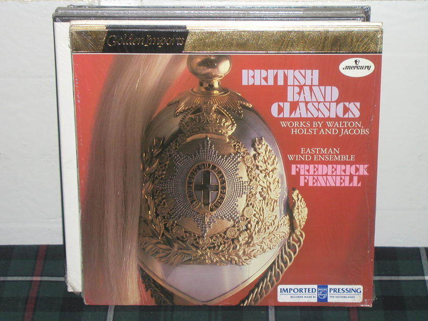 Frederick Fennell/Eastman Wind Ensemble - BRITISH BAND CLASSICS Mercury Golden Imports SRI-75028