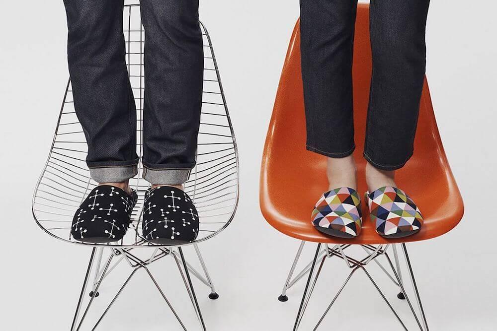 Uniqlo Eames Slippers