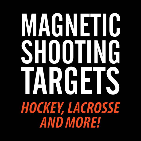 Magnetic Shooting Targets for Hockey, Lacrosse and more!