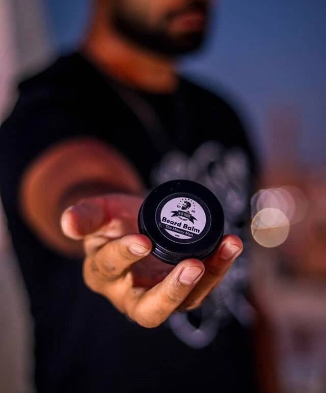 Man Made 30ml Pocket balms perfect for the bearded man on the move