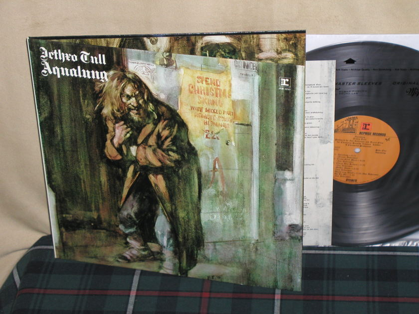 "Jethro Tull   Aqualung - Reprise MS 2035 First issue ""Investment Grade"""